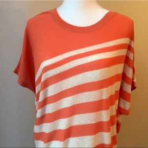 Teaspoon • Coral Striped Top